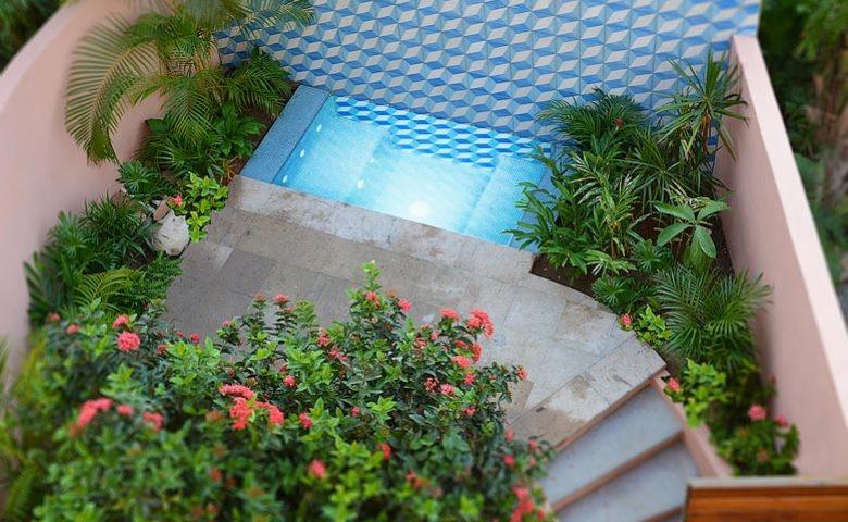 Casita Luna — Hot tub