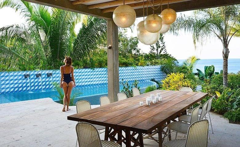Villa Pericos — Outside dining area