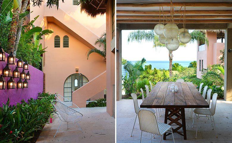 Villa Pericos — Dining area