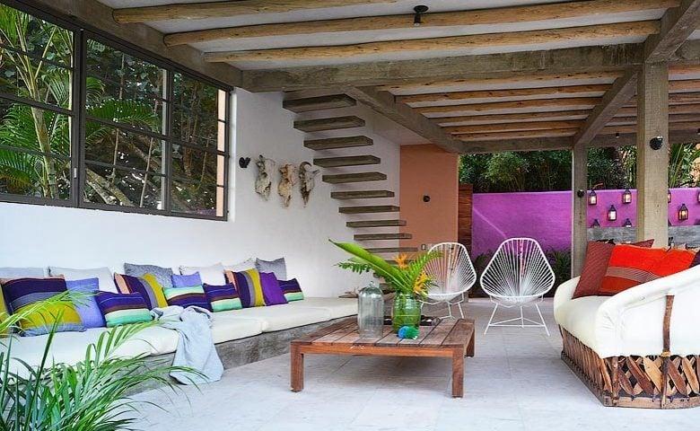 Villa Pericos — Lounge area