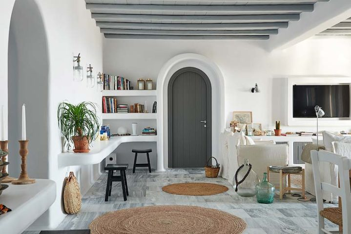 Mykonos Villa — Living area
