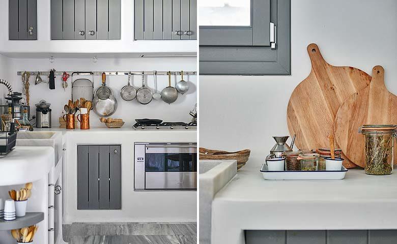 Mykonos Villa — Kitchen