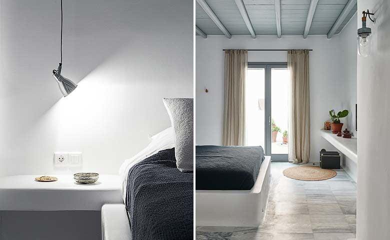 Mykonos Villa — Bedroom