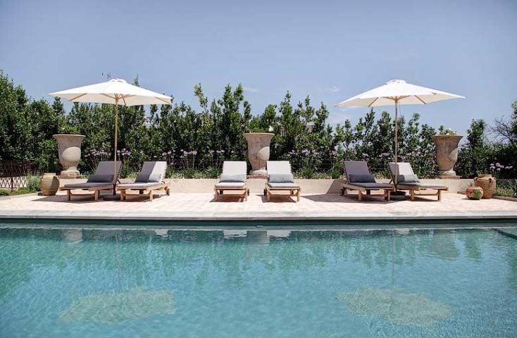Villa d'Antibes — Heated saltwater pool