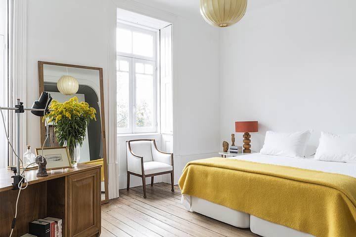 myhomeinporto — Yellow room
