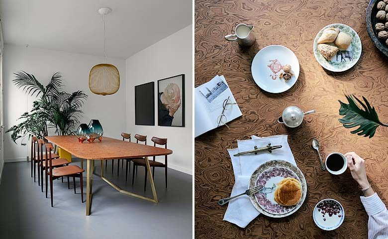 Casa Flora — Dining area