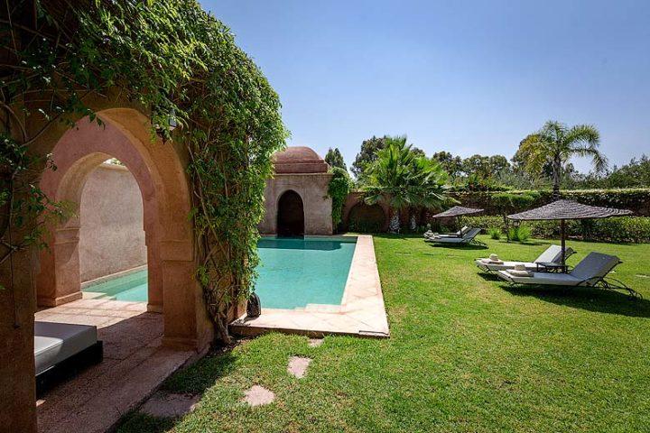 Villa Arnkar — Pool area