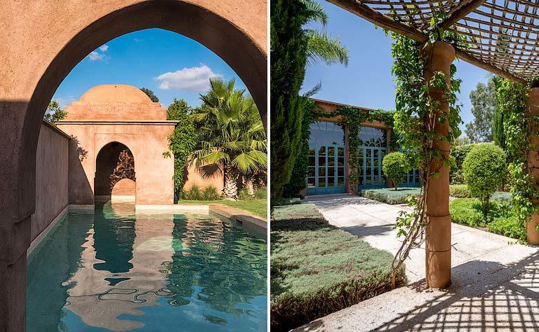 Villa Arnkar — Pool and garden