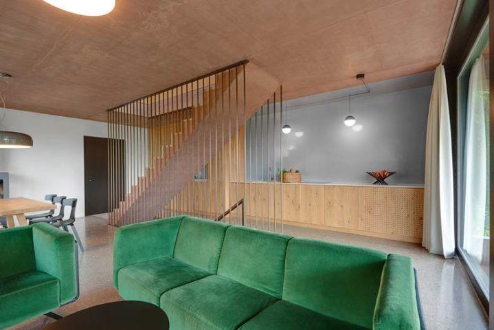 Villa Kaltern Piccola — Living area