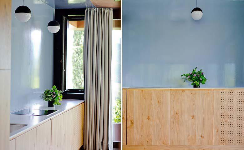 Villa Kaltern Piccola — Kitchen