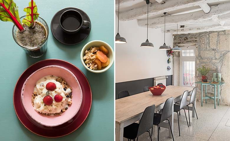 A Bela Aurora — Breakfast area