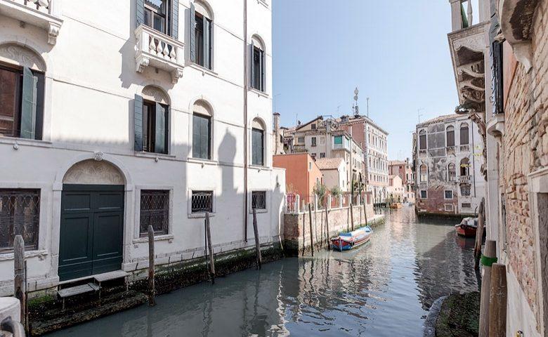 Palazzo Morosini — The canal by the Palazzo