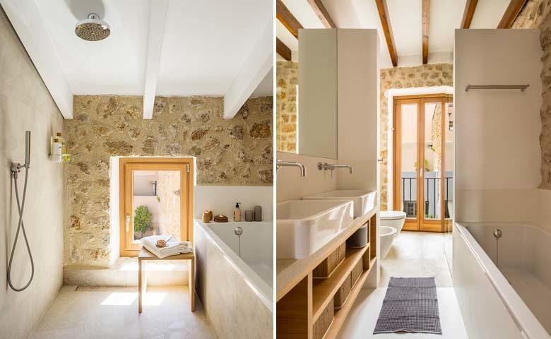 Pollença Town House — Bathrooms