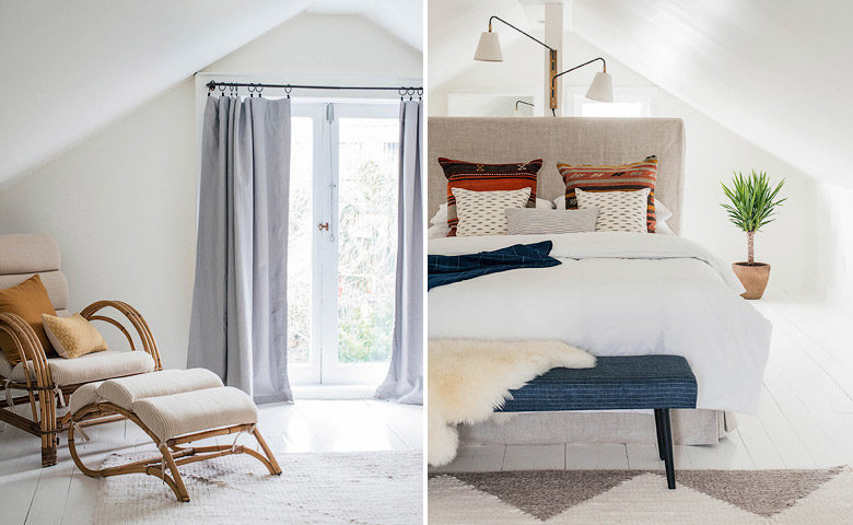 The Louie — Attic bedroom