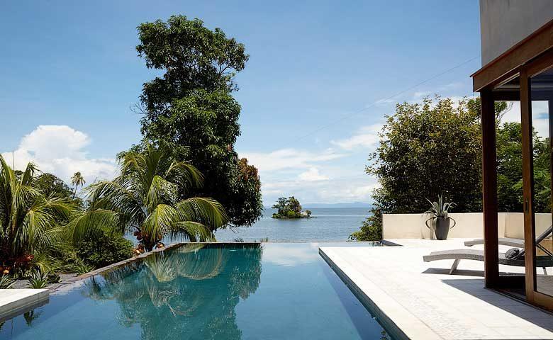 Nicaragua Private Island — Pool and lake views