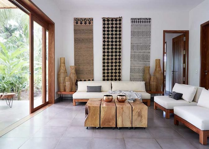Nicaragua Private Island — Living area