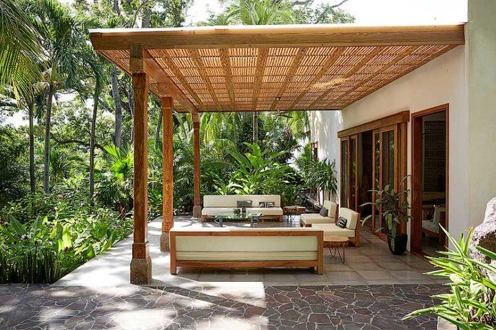 Nicaragua Private Island — Outside living area