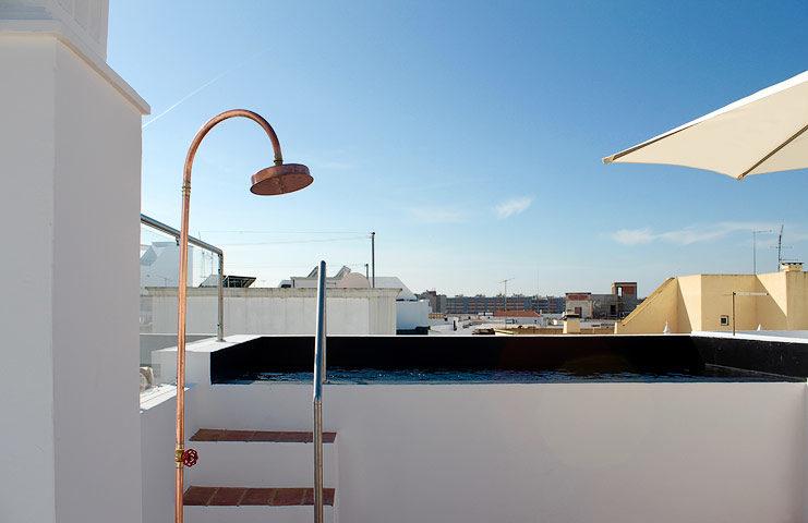 Casa Olhão — Rooftop pool