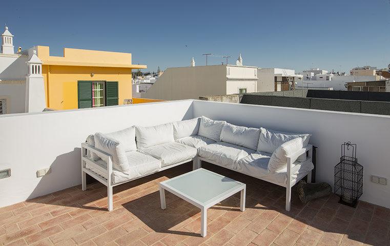 Casa Olhão — Rooftop terrace
