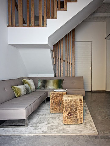 Casa Olhão — Living area