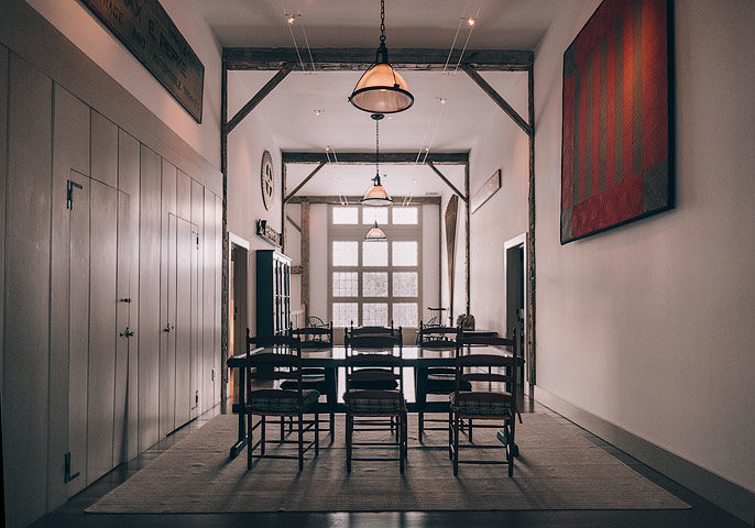 The Dutchess — Dining area