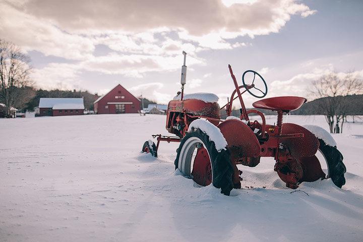 The Dutchess — Estate in winter