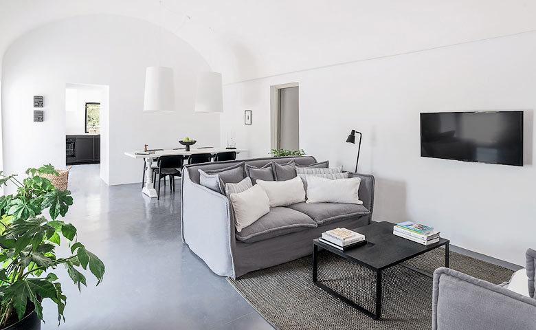 Villa Puglia — Living area