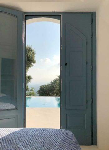 Trullo M — Bedroom view