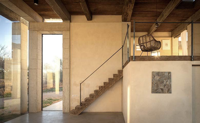 SpronkenHouse — SpronkenHouse - Villa 2 living area