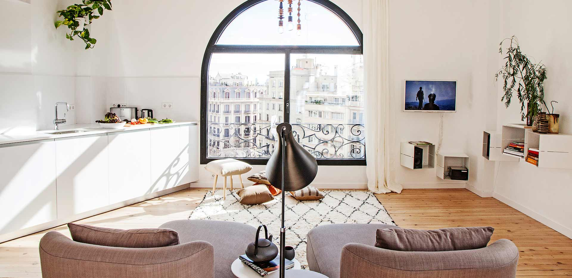 Eixample Penthouse in Barcelona, Spain   Holiday apartments